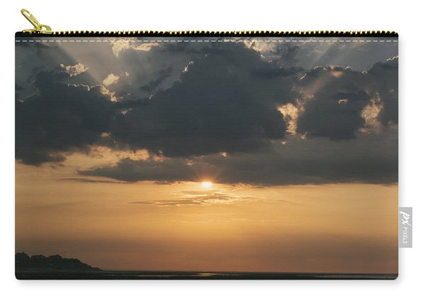 Sunrise Over The Isle Of Wight Carry-all Pouch