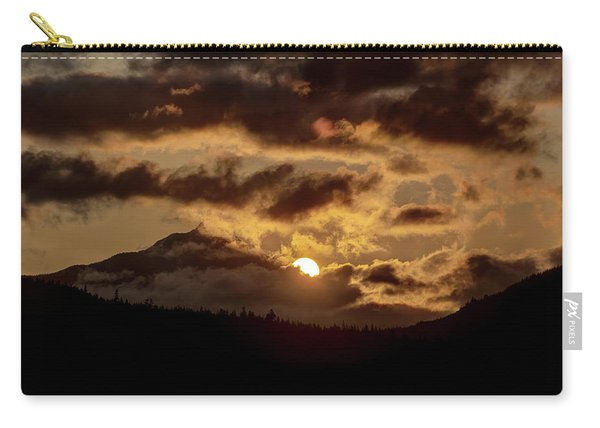 Sunrise Over The Peak Carry-all Pouch