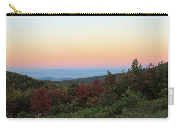 Sunrise Over The Shenandoah Valley Carry-all Pouch