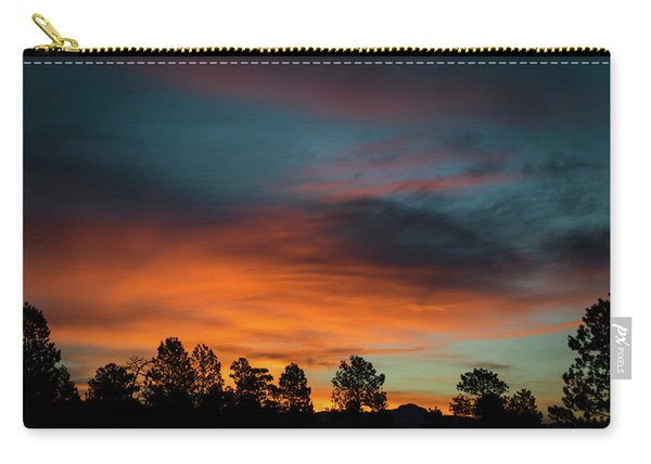 Carry-all Pouch featuring the photograph Sunrise Over The Southern San Juans by Jason Coward