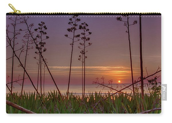 Sunrise Palm Blooms Carry-all Pouch