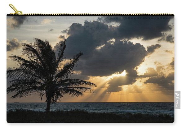 Sunrise Palm Rays Delray Beach Florida Carry-all Pouch