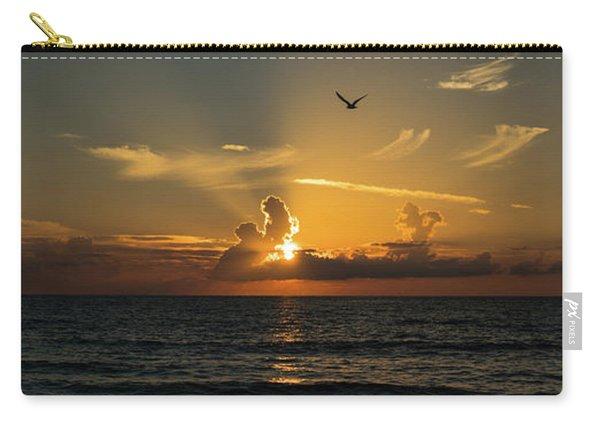 Sunrise Rays Delray Beach Florida Carry-all Pouch