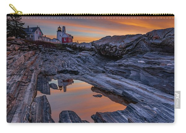 Sunrise Reflections At Pemaquid Point Carry-all Pouch