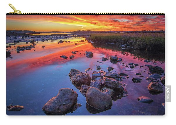 Sunrise Reflections In Harpswell Carry-all Pouch
