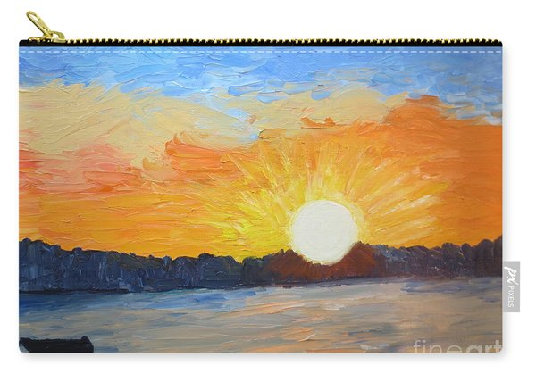 Sunrise At Pine Point Carry-all Pouch