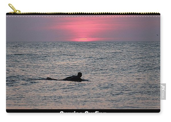 Sunrise Surfing Carry-all Pouch