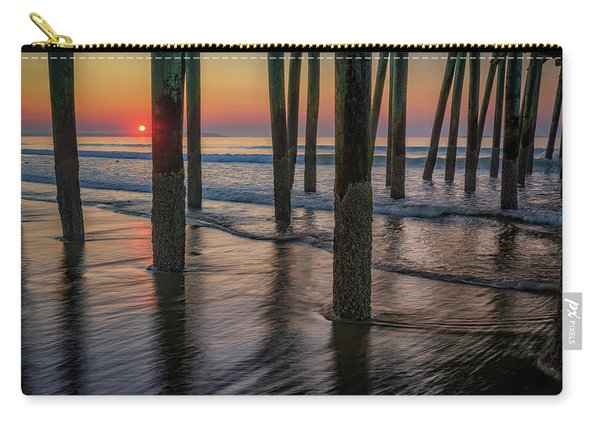 Sunrise Under The Pier Carry-all Pouch