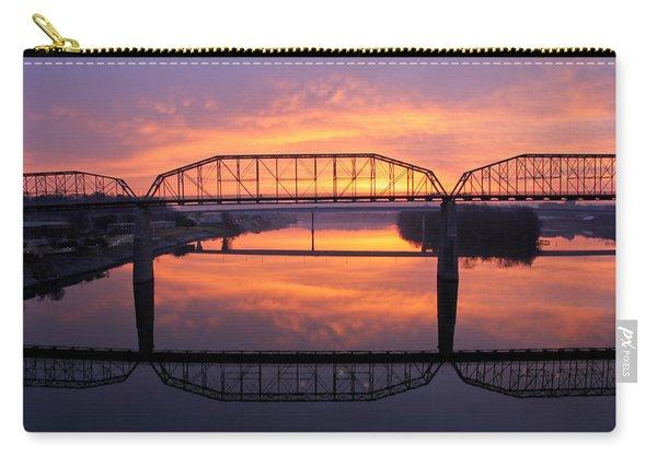 Sunrise Walnut Street Bridge 2 Carry-all Pouch