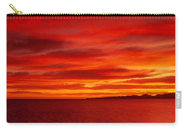 Sunrise, Water, Mulege, Baja Carry-all Pouch