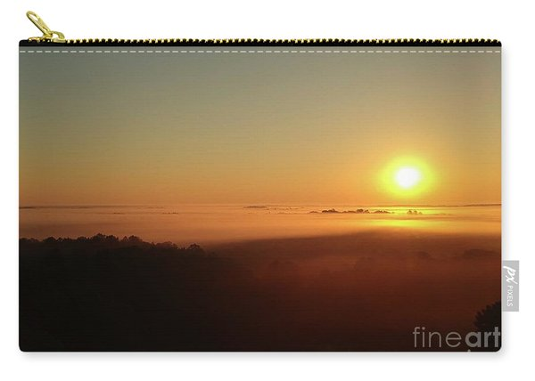Sunrise With Fog  Carry-all Pouch