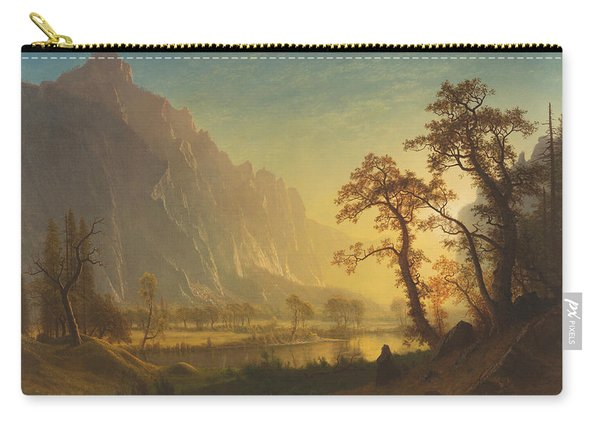 Sunrise, Yosemite Valley Carry-all Pouch