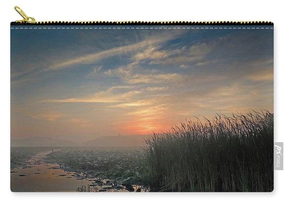Sunrise Through The Fog Carry-all Pouch