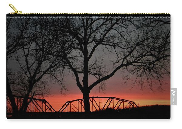 Sunset Across The Cumberland Carry-all Pouch