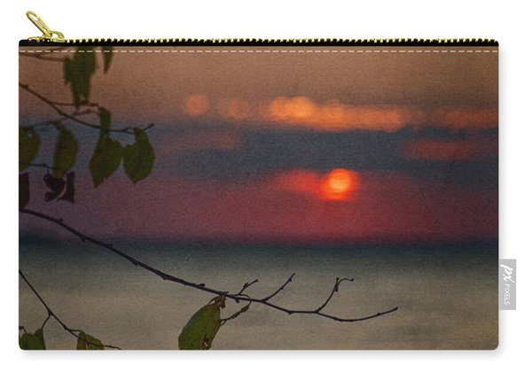 Sunset And Branches Carry-all Pouch