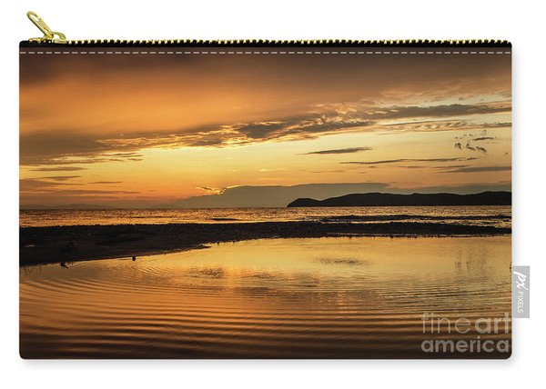 Sunset And Reflection Carry-all Pouch