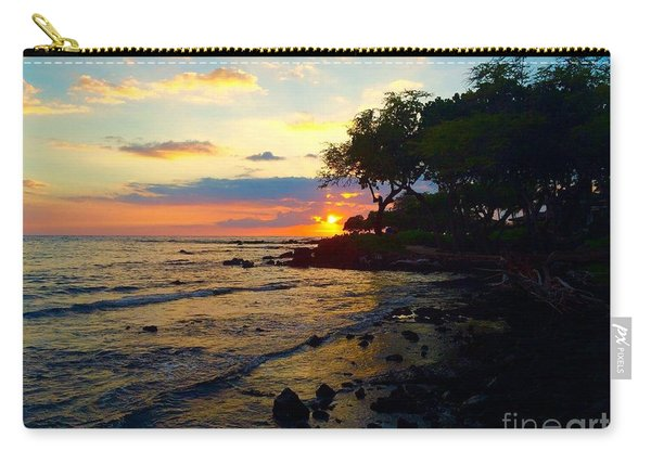 Sunset At A-bay Carry-all Pouch
