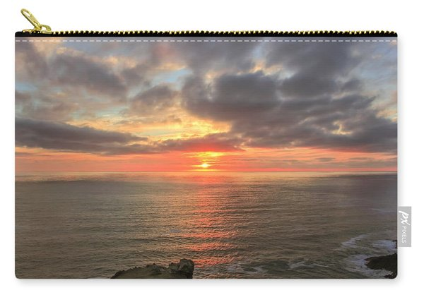 Sunset At Botallack  Carry-all Pouch