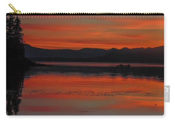 Sunset At Brothers Islands Carry-all Pouch