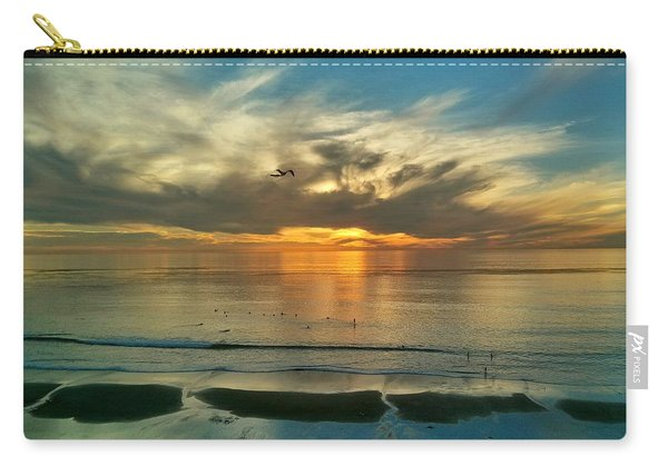 Sunset At Carlsbad Carry-all Pouch