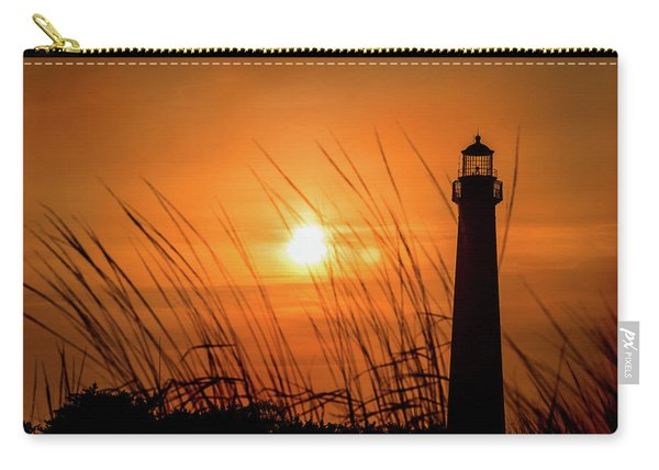 Sunset At Cm Lighthouse Carry-all Pouch