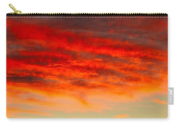 Sunset At Eaton Rapids 4826 Carry-all Pouch
