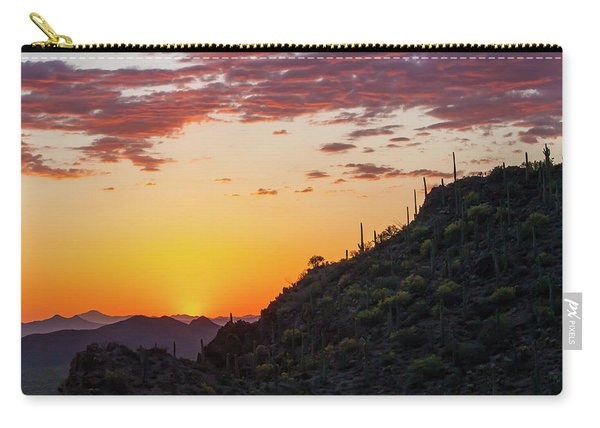 Sunset At Gate's Pass Carry-all Pouch