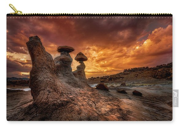 Sunset At Goblin Valley Carry-all Pouch