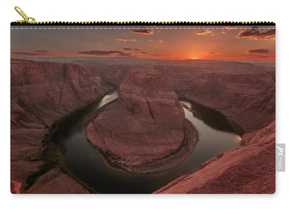 Sunset At Horseshoe Bend Carry-all Pouch