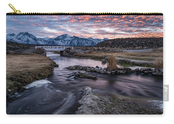 Sunset At Hot Creek Carry-all Pouch