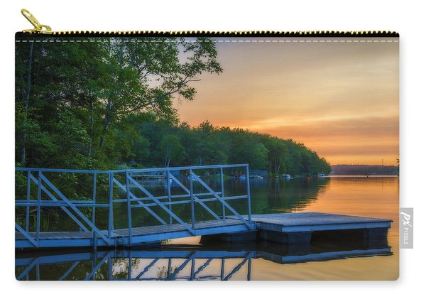 Sunset At Kearney Lake Carry-all Pouch