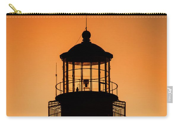 Sunset At Lighthouse Carry-all Pouch