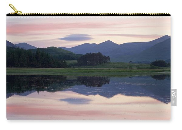 Sunset At Loch Tulla Carry-all Pouch