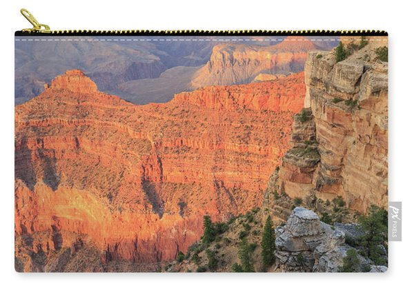 Sunset At Mather Point Carry-all Pouch