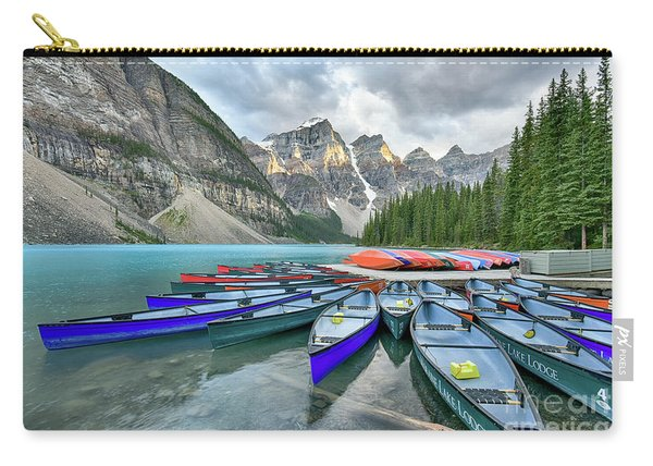 Sunset At Moraine Lake Carry-all Pouch