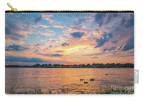 Sunset At Morse Lake Carry-all Pouch