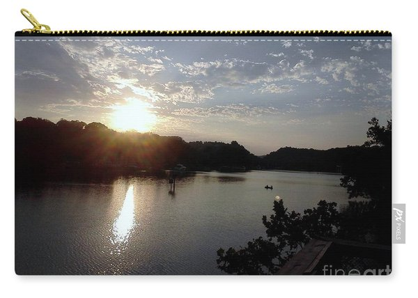 Sunset At Occoquan Carry-all Pouch