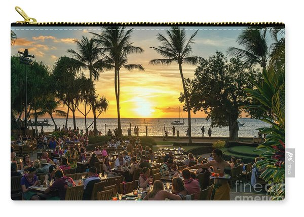 Sunset At Old Lahaina Luau #1 Carry-all Pouch