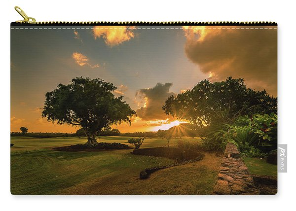 Sunset At Paia Carry-all Pouch