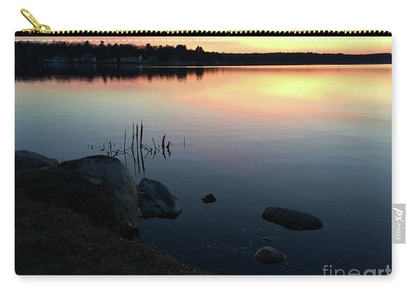 Sunset At Pentwater Lake Carry-all Pouch