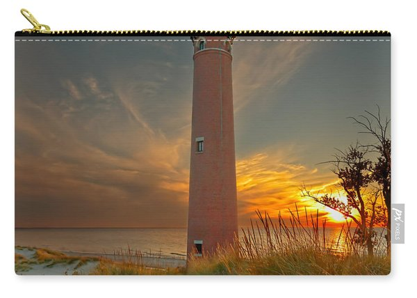 Sunset At Petite Pointe Au Sable Carry-all Pouch