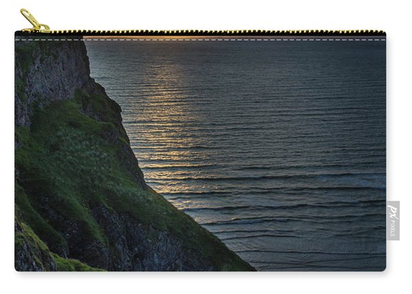 Sunset At Rhossili Bay Carry-all Pouch