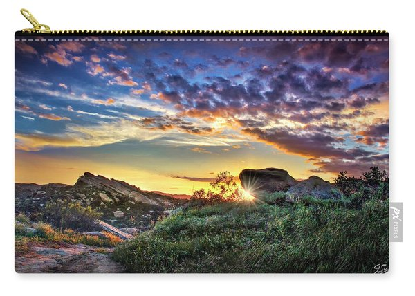 Sunset At Sage Ranch Carry-all Pouch