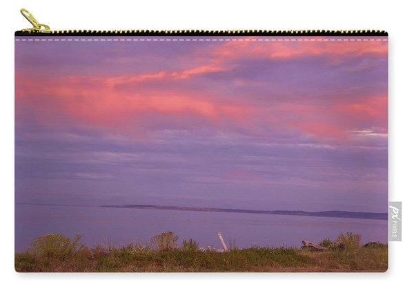 Sunset At Sequim Carry-all Pouch