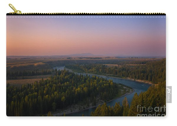 Sunset At Snake River Carry-all Pouch