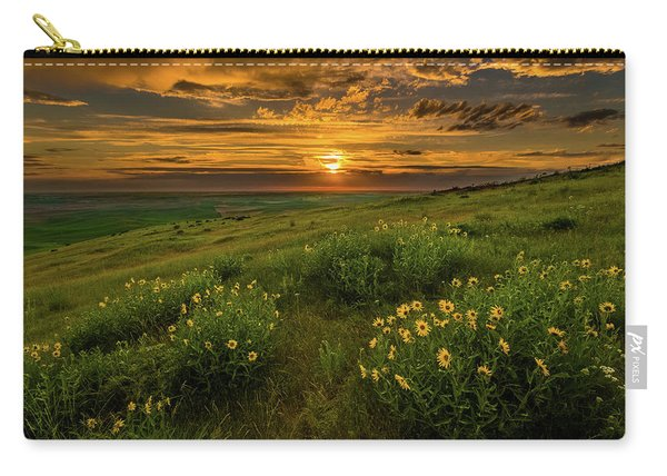 Sunset At Steptoe Butte Carry-all Pouch