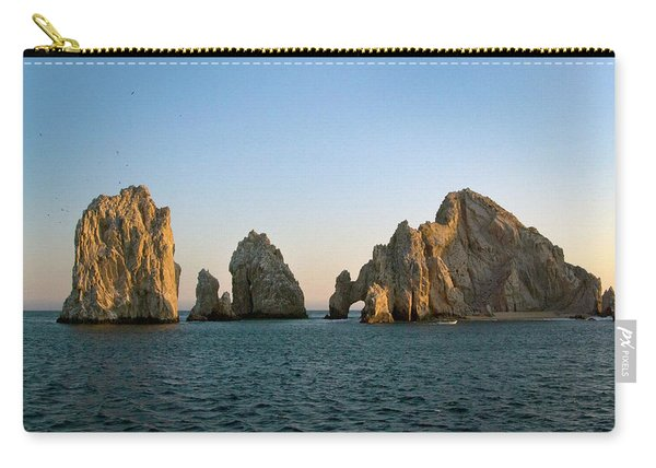 Sunset At The Golden Arch Carry-all Pouch