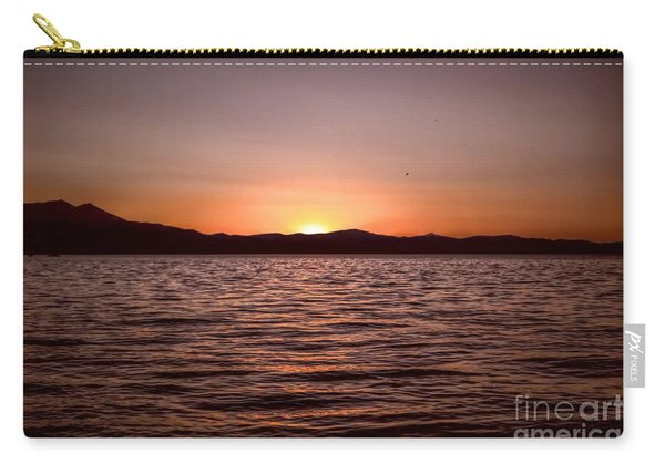Sunset At The Lake 2 Carry-all Pouch