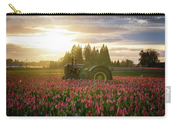 Sunset At The Tulip Farm Carry-all Pouch