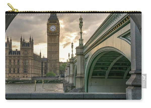 Sunset At Westminster Carry-all Pouch
